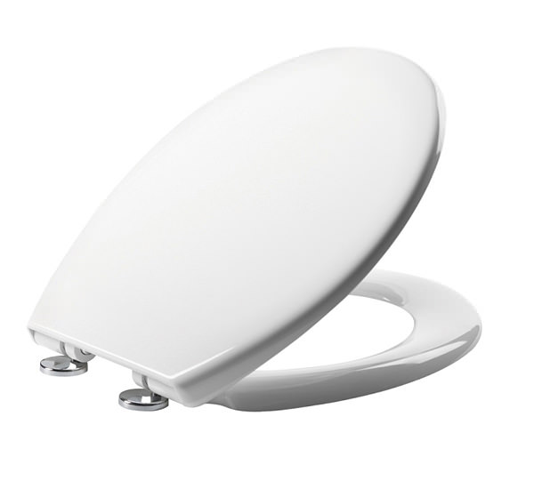Tavistock Alpine Soft Close Thermoset Toilet Seat White O803sc