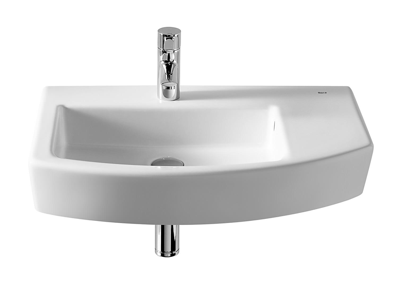 Roca hall offset asymmetrical basin 650mm width 327620000 - Lavabos de esquina ...