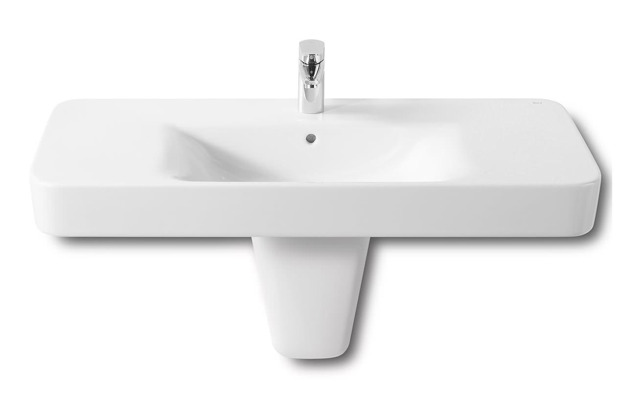 ... basins wall hung roca senso square wall hung basin 1000mm wide