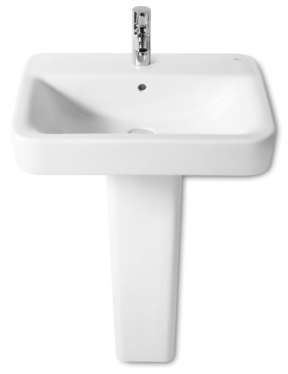 Square Wall Mounted Basin : ... basins bathroom sinks roca senso square wall mounted basin 600 x 475mm