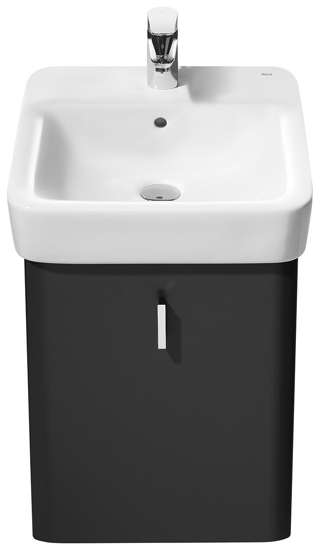 Small Bathroom Wall Hung Heaters 3 Inch Width: Roca Senso Square Wall Hung Basin 450mm Wide