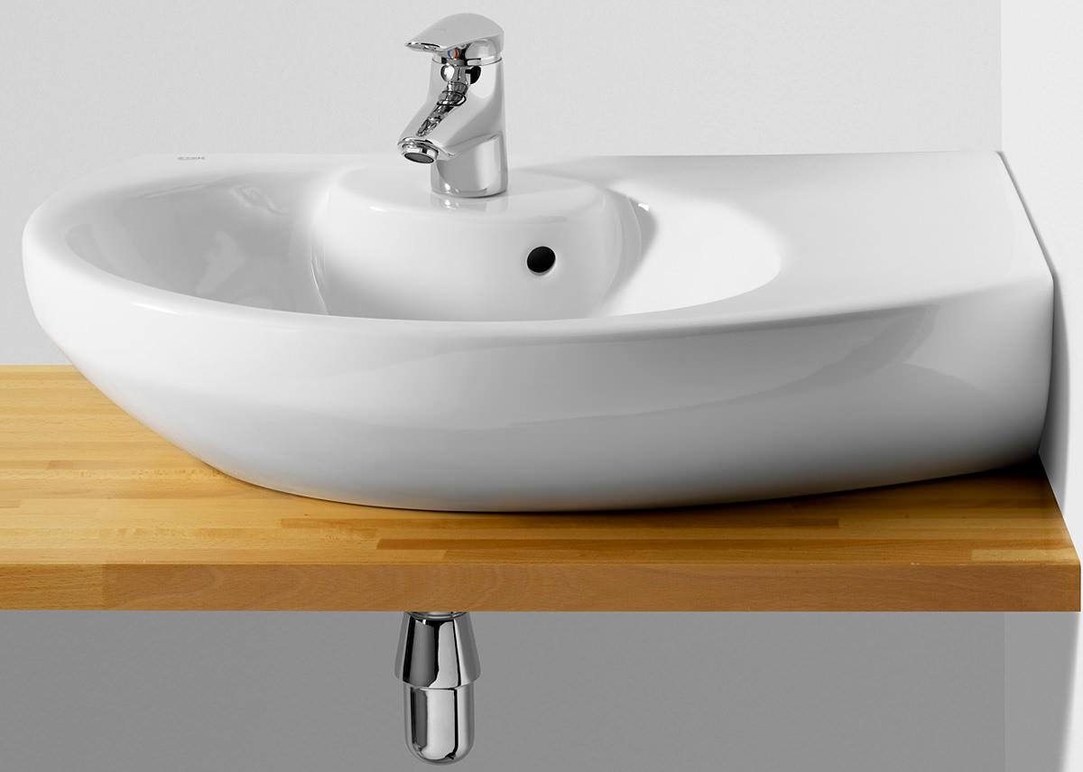 Exceptionnel Roca Senso Compact Corner Right Hand Basin 680mm Wide 327519000