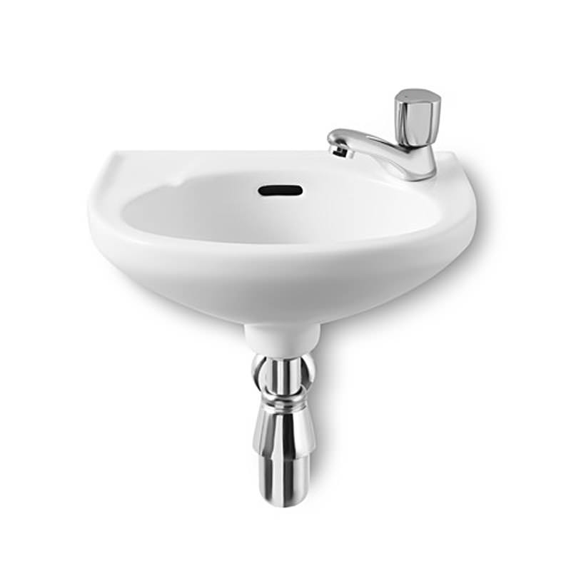 Roca Laura Cloakroom Basin With 1 Tap Hole 350mm Wide