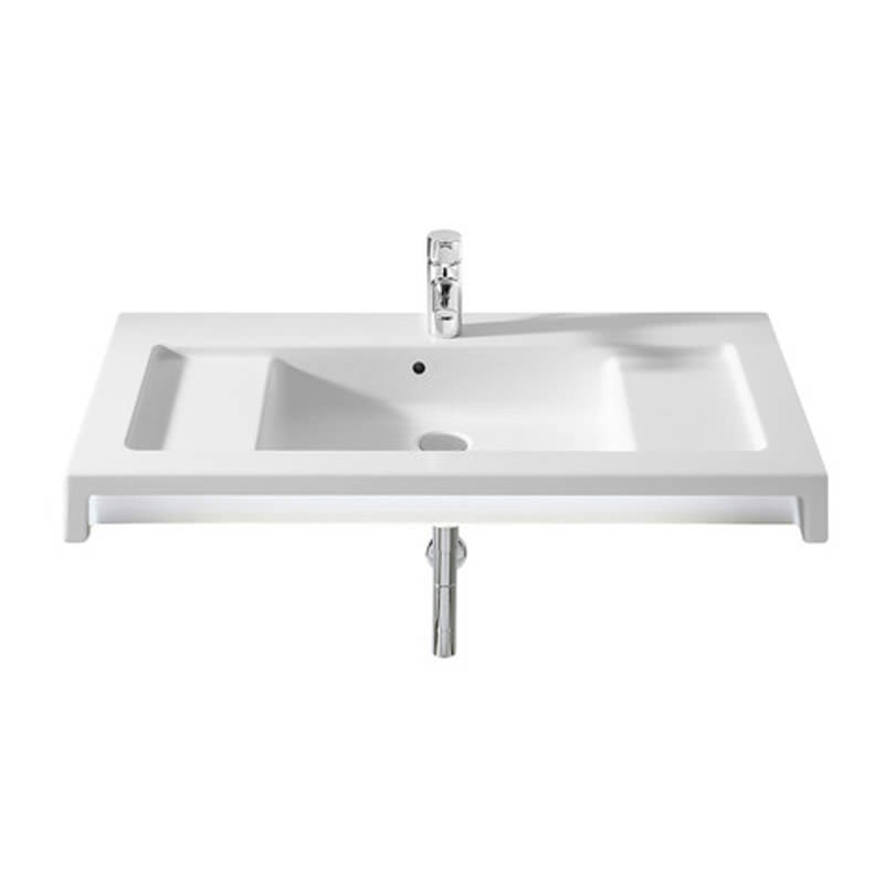 Roca Stratum 900 x 500mm Vanity Or Wall Hung Basin With 1 Taphole