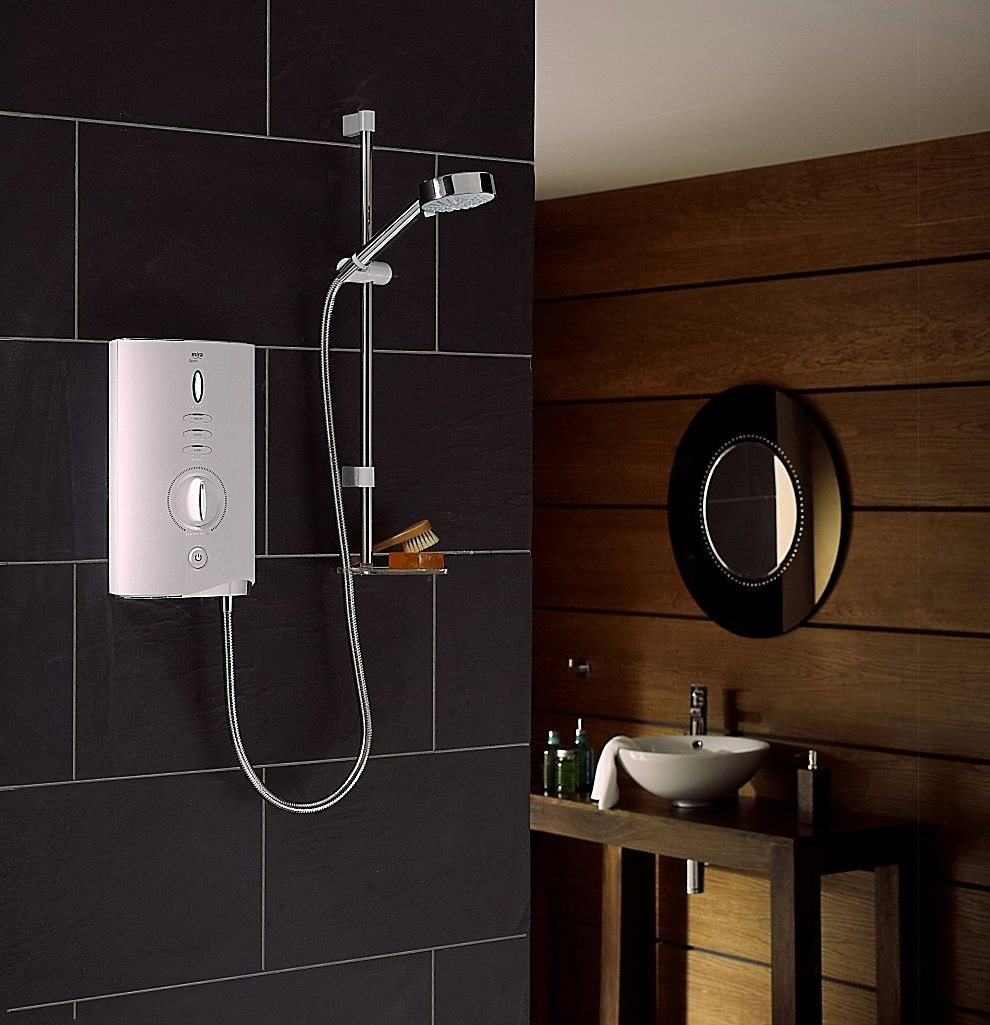 Mira Sport Max 10.8kW White And Chrome Electric Shower