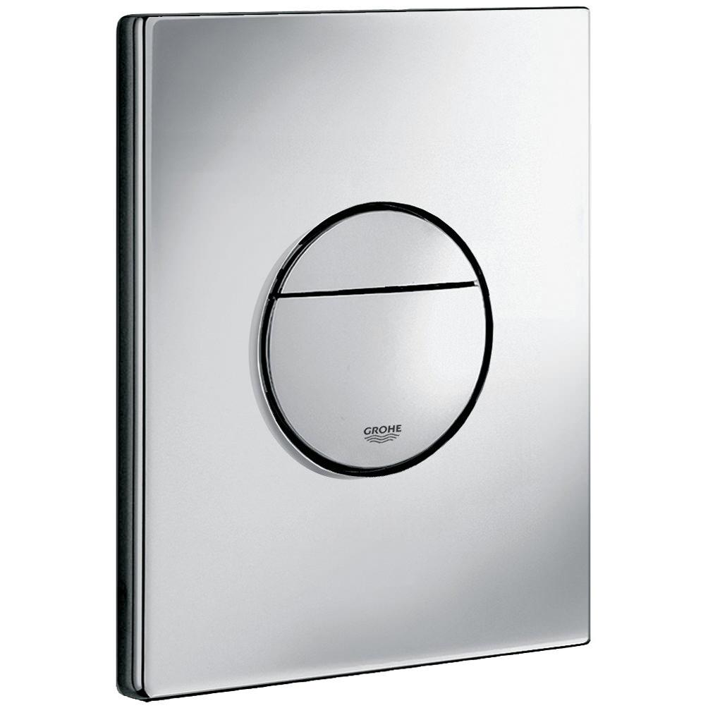 Grohe Nova Dual Flush Wc Wall Plate Chrome 38765000