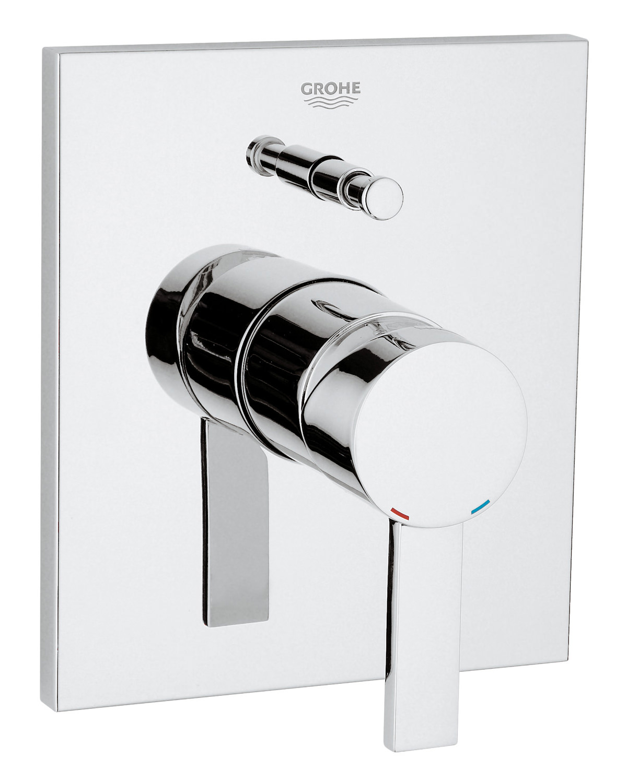 grohe spa allure concealed bath shower mixer trim 19315000. Black Bedroom Furniture Sets. Home Design Ideas