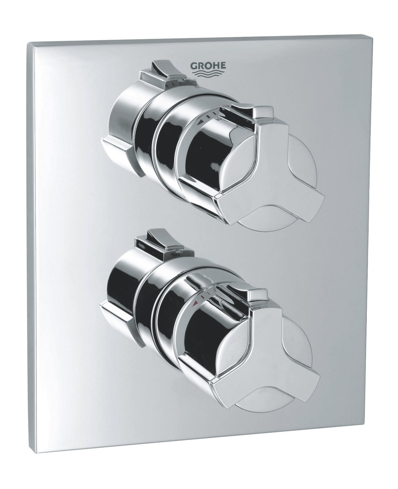 grohe spa allure concealed thermostatic shower mixer valve 19380000. Black Bedroom Furniture Sets. Home Design Ideas