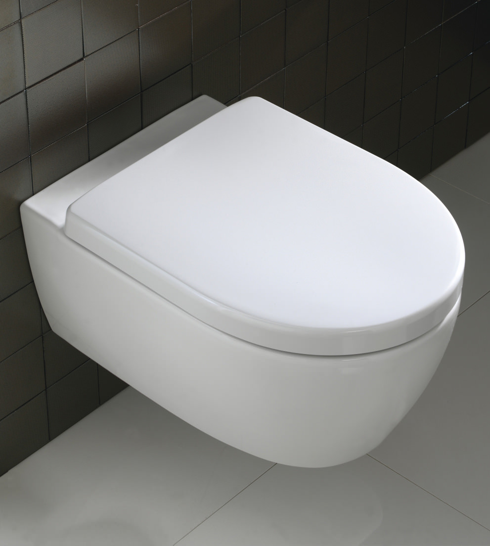 Twyford 3d Wall Hung Wc Pan 530mm 3d1738wh