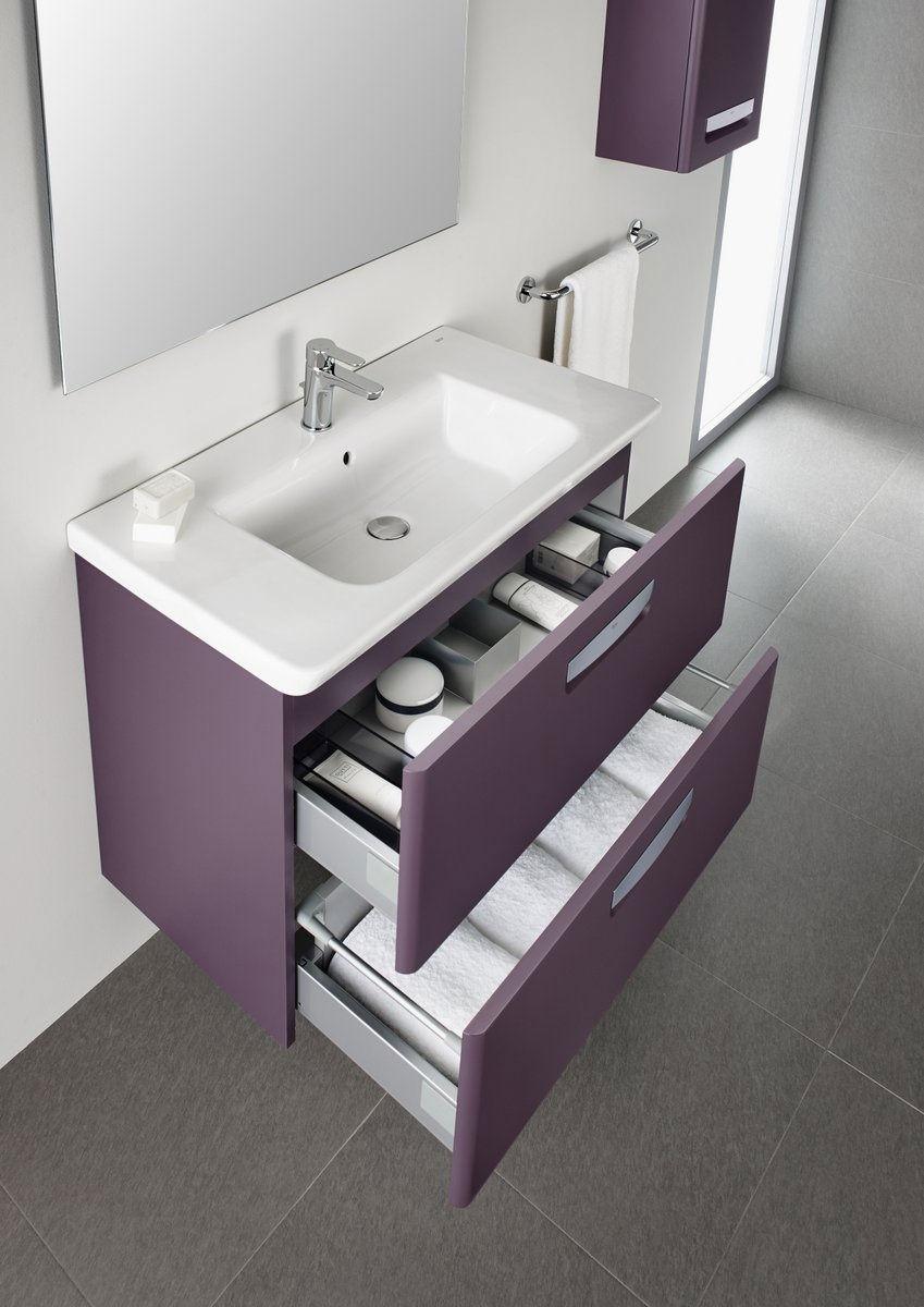 roca the gap unik base unit with 600mm wide basin 855710577. Black Bedroom Furniture Sets. Home Design Ideas