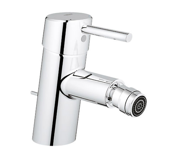 grohe concetto bidet mixer tap with pop up waste 32208001. Black Bedroom Furniture Sets. Home Design Ideas