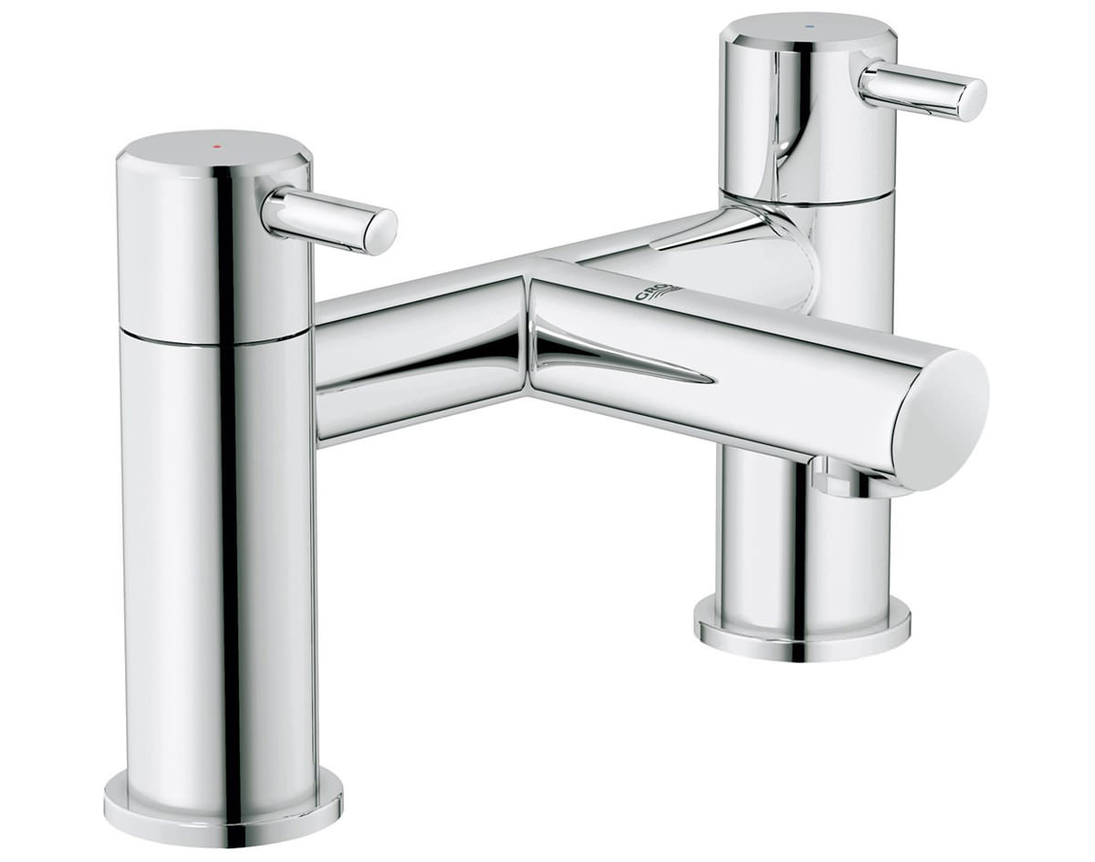 grohe concetto deck mounted bath filler tap 25102000. Black Bedroom Furniture Sets. Home Design Ideas
