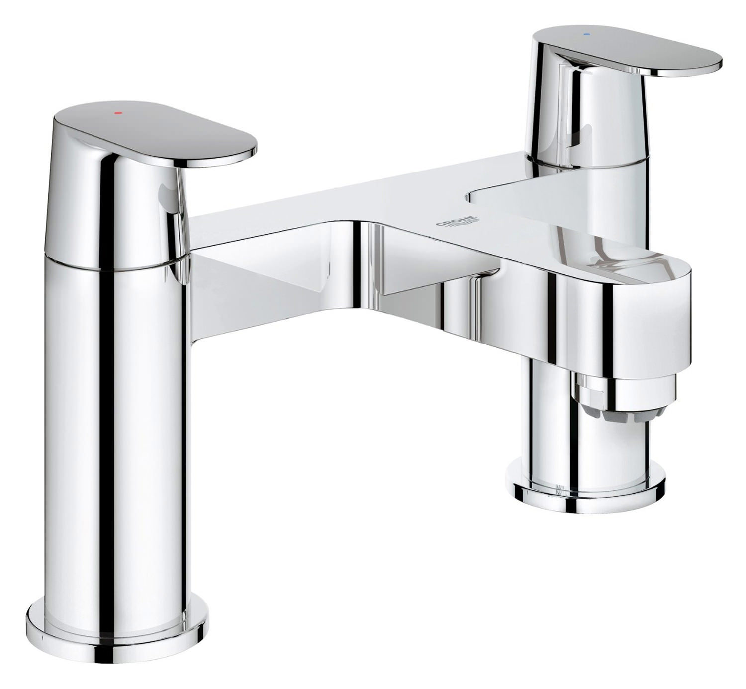 Gut Eurosmart Cosmo Deck Mounted Bath Filler Tap - 25128000 CX76