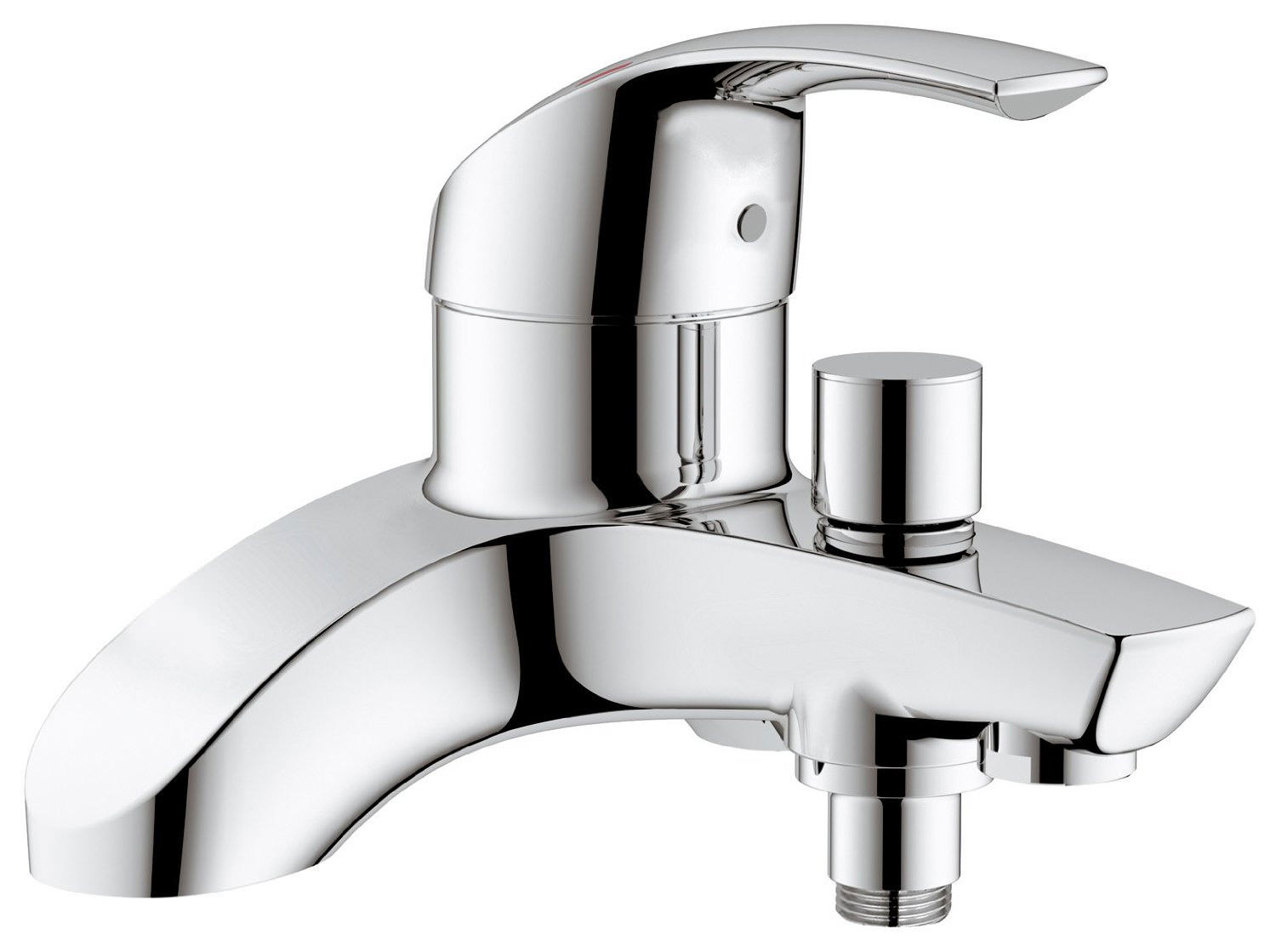 bath shower mixer grohe eurosmart deck mounted bath shower mixer tap