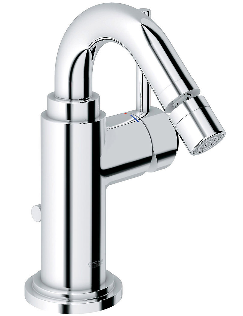 grohe spa atrio c spout bidet mixer tap with pop up waste. Black Bedroom Furniture Sets. Home Design Ideas