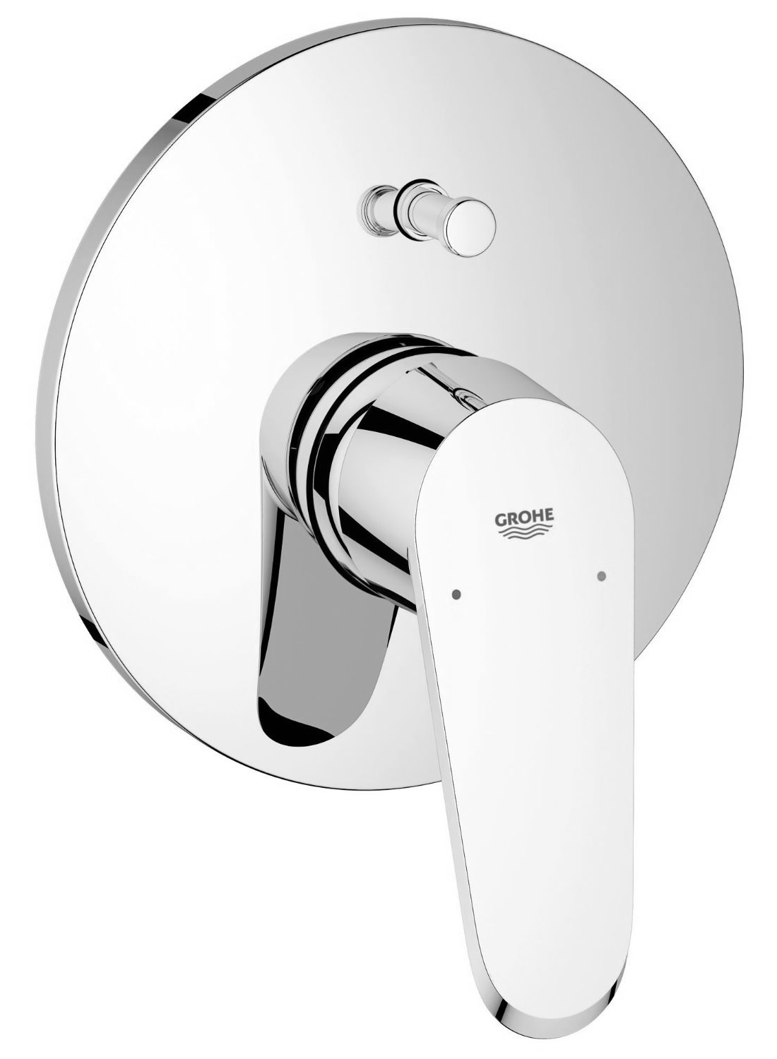 Grohe Eurodisc Cosmopolitan Single-Lever Chrome Shower Mixer Trim ...