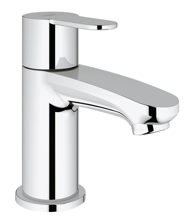 Kitchens Designer Grohe Eurostyle Cosmopolitan Chrome Pillar Tap 23039002