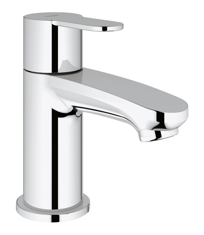 Designer Bathroom Accessories Grohe Eurostyle Cosmopolitan Chrome Pillar Tap 23039002