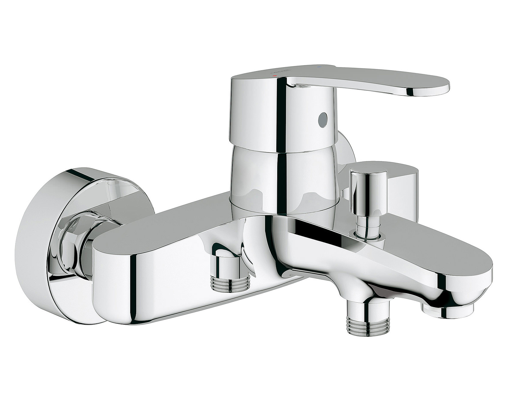 grohe eurostyle cosmo wall mounted bath shower mixer tap 33591002. Black Bedroom Furniture Sets. Home Design Ideas