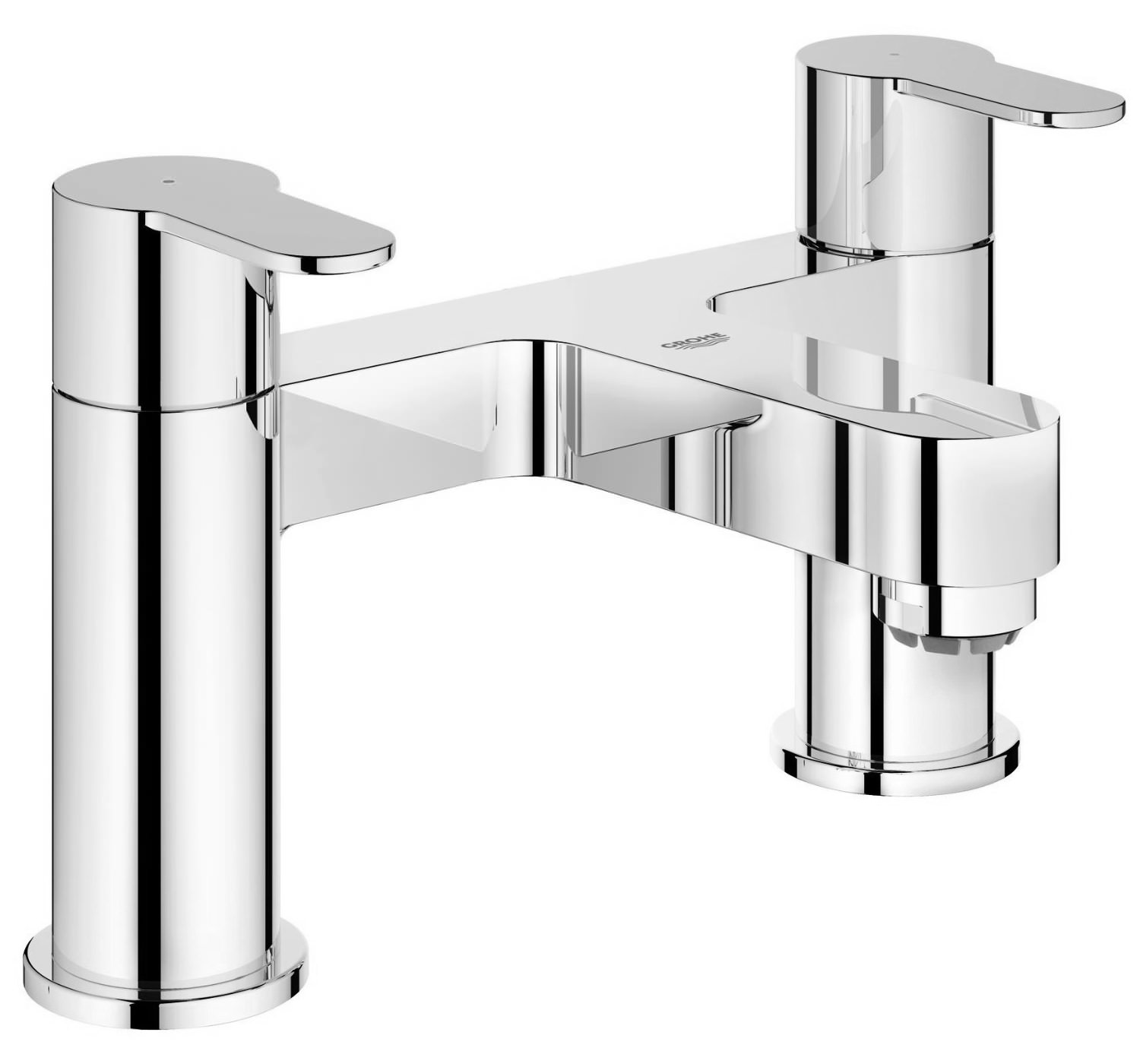 grohe eurostyle cosmo deck mounted bath filler tap 25100002. Black Bedroom Furniture Sets. Home Design Ideas