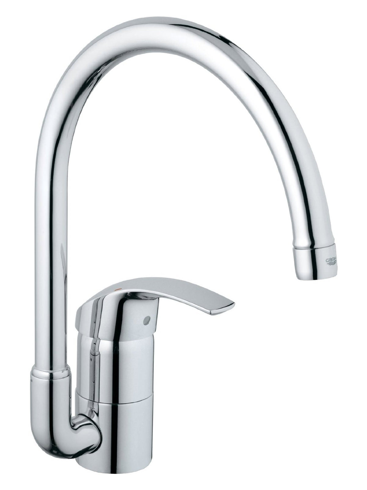 grohe eurosmart high spout half inch sink mixer tap 33202001. Black Bedroom Furniture Sets. Home Design Ideas