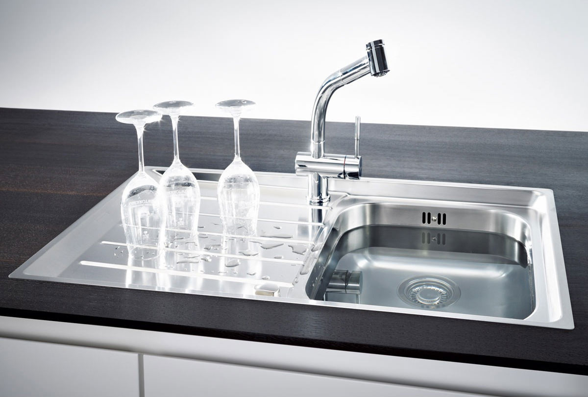 Neptune Sink : ... of Franke Neptune NEX 211 Stainless Steel 1.0 Bowl Kitchen Inset Sink