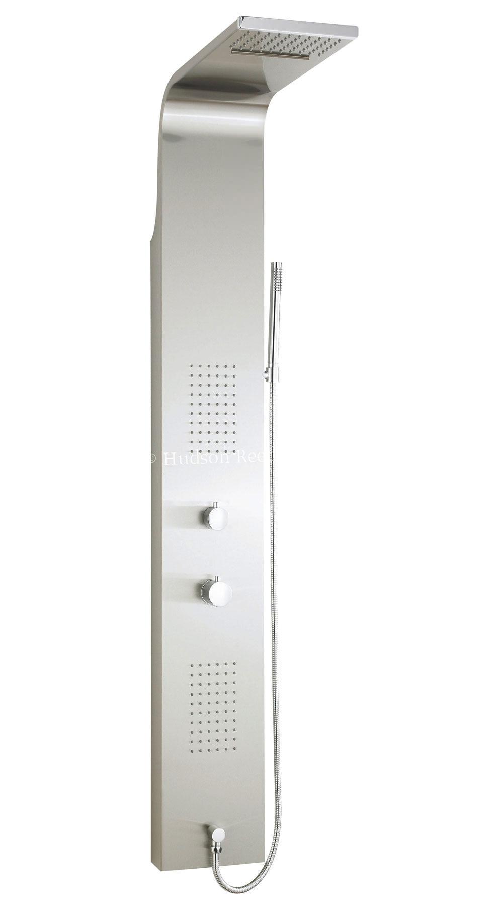 hudson reed shower panel. Black Bedroom Furniture Sets. Home Design Ideas