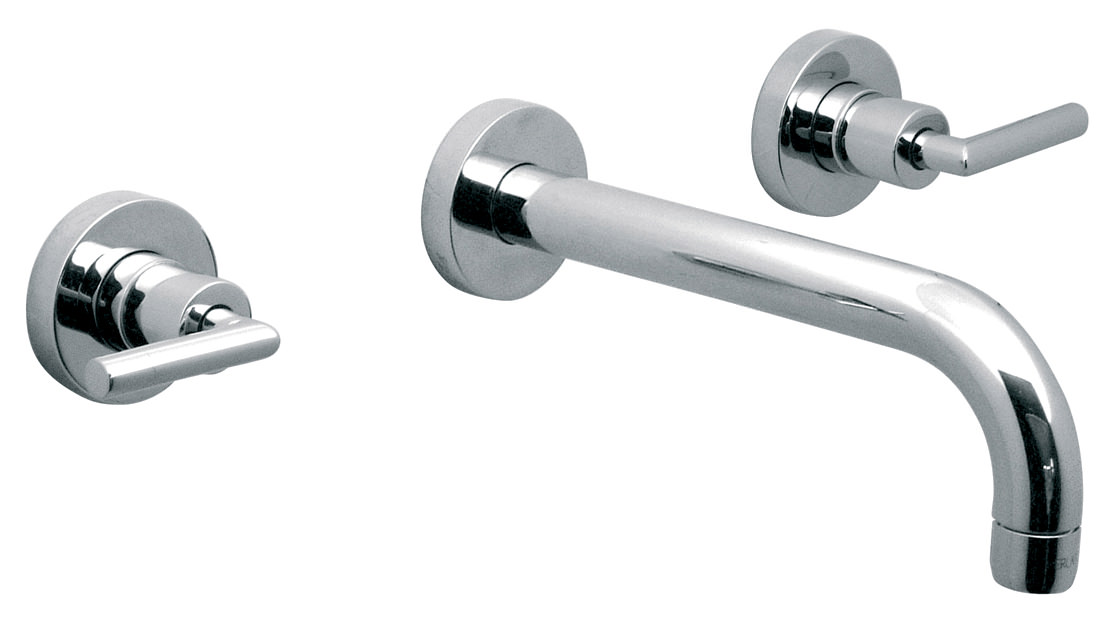 Vado Elements Air 3 Hole Basin Mixer Tap With 200mm Spout