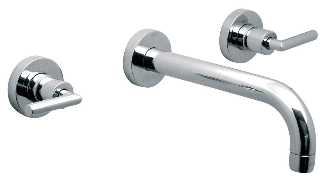 vado elements air 3 hole basin mixer tap with 200mm spout ela 109l c p. Black Bedroom Furniture Sets. Home Design Ideas