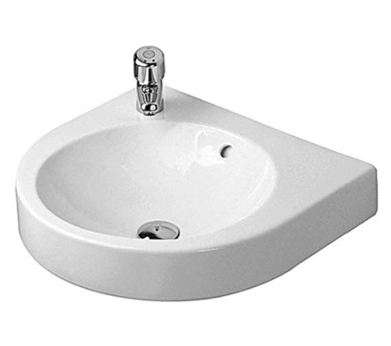 Duravit architec 575mm washbasin with overflow 0450580000 for Duravit architec toilet