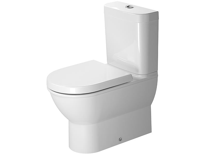 duravit darling new close coupled toilet with cistern 630mm 2138090000. Black Bedroom Furniture Sets. Home Design Ideas