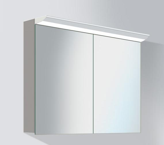 Duravit darling new 1000mm 2 door mirror cabinet dn753701414 for 1000mm door