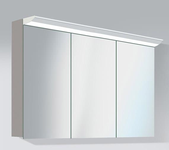 duravit darling new 1200mm 3 door mirror cabinet dn753801414