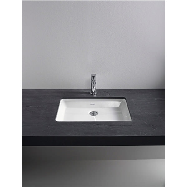 duravit 2nd floor 700x550mm 2 cut outs console for undercounter basin 2f859c. Black Bedroom Furniture Sets. Home Design Ideas