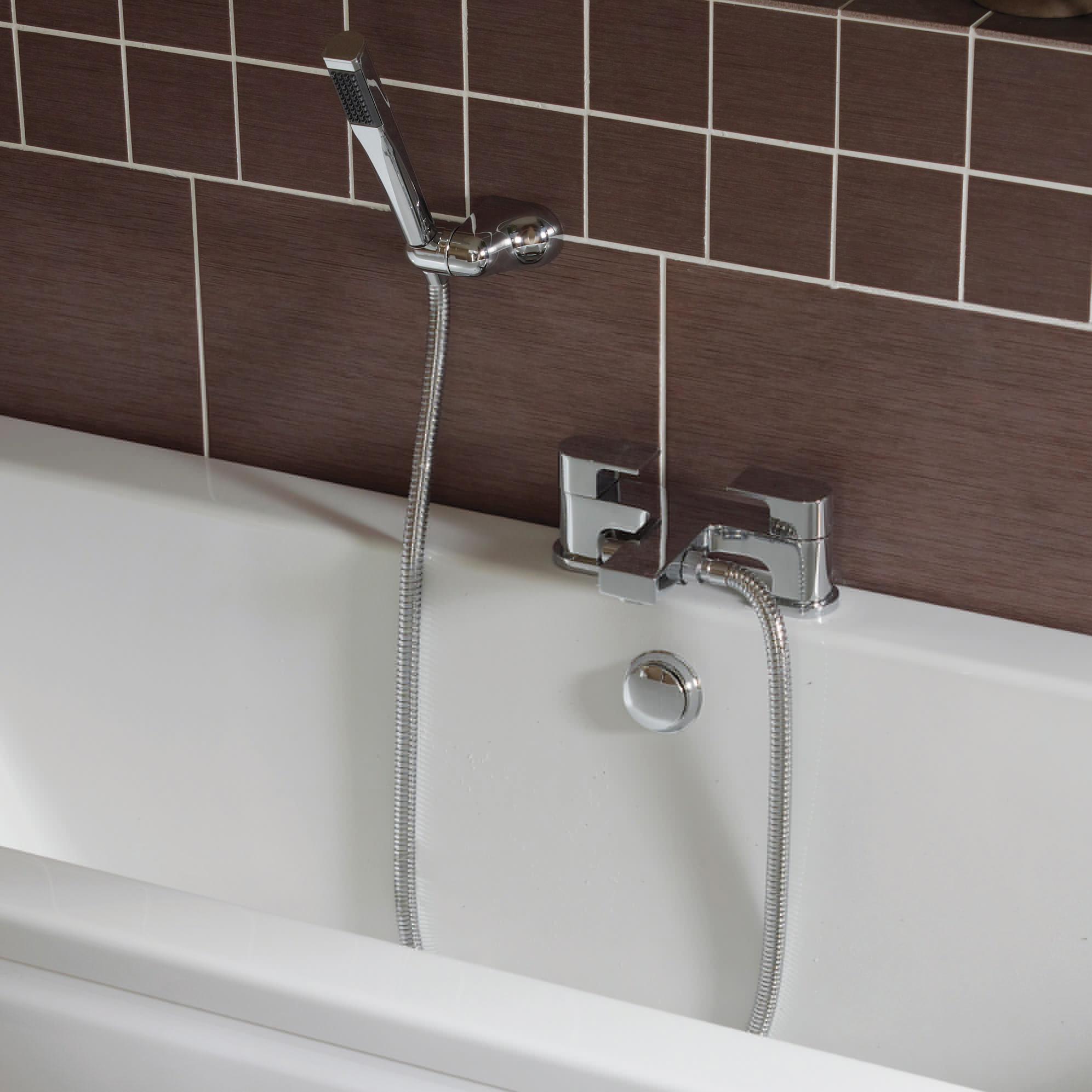 Essential Dusk 2 Hole Bath Shower Mixer Tap ET110