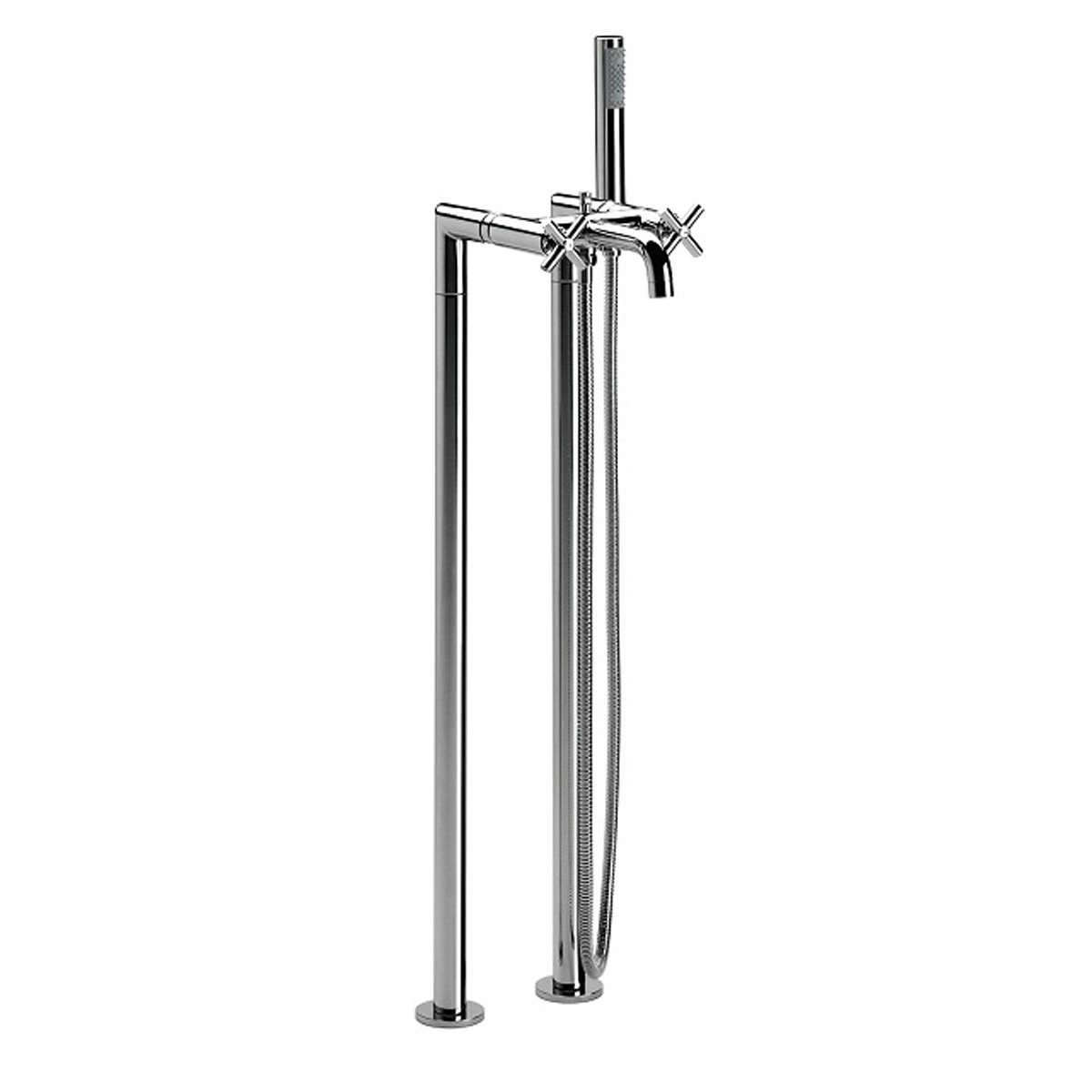 Roca Loft Floor-Standing Bath Shower Mixer Tap With Kit | 5A2743C00