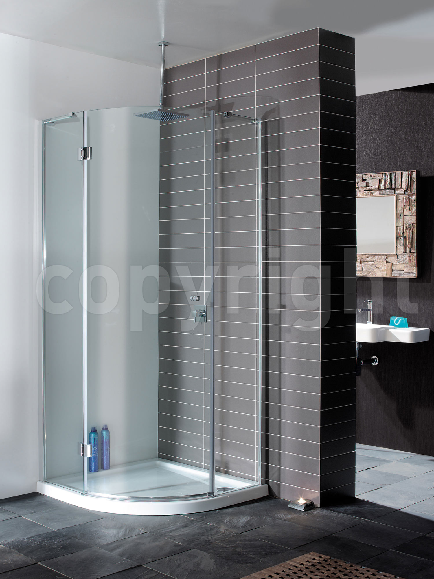 Bathroom glass door design - Simpsons Design Single Door Shower Quadrant 800mm