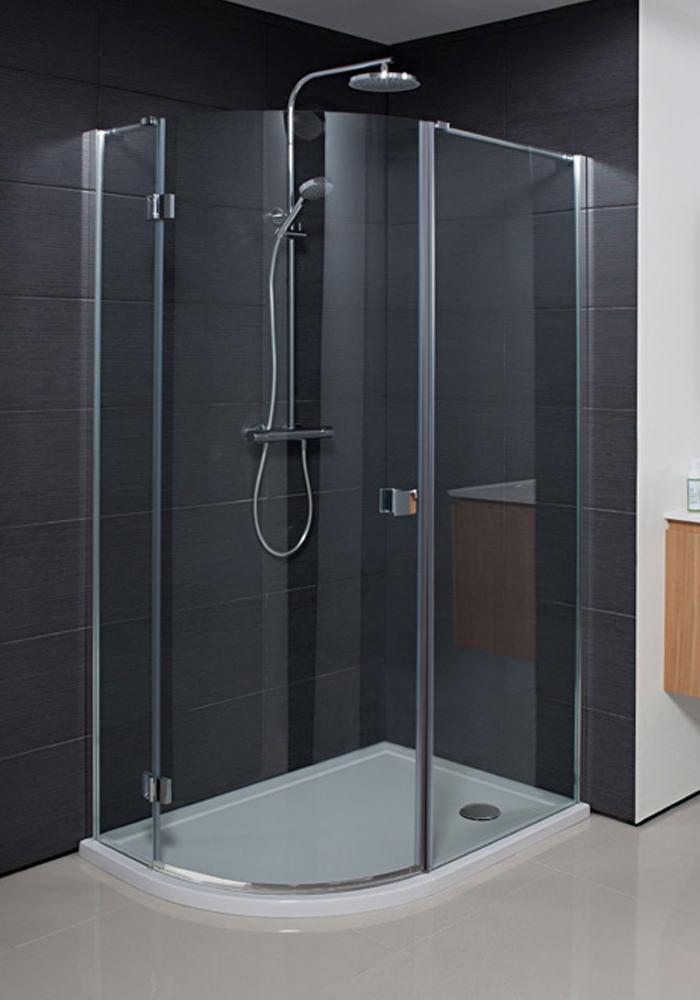 Simpsons Design Single Door Offset Quadrant Enclosure 1000x800mm