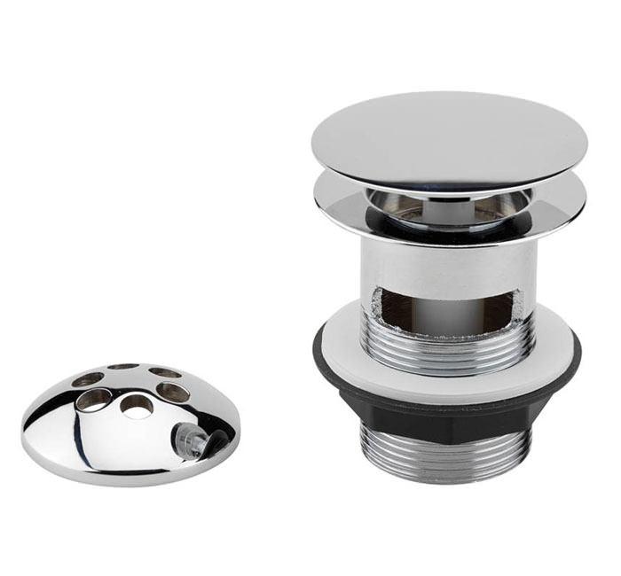 Tre Mercati 1 1-2 Inch Bath Pop Up Waste With Mushroom Plug   717A