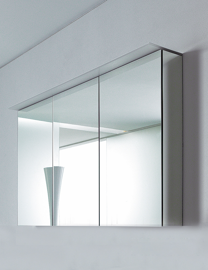 Duravit delos 3 doors mirror cabinet dl754300000 for Bathroom mirror cupboard