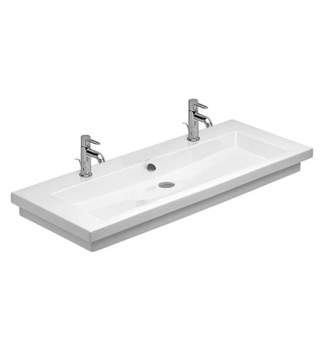 duravit 2nd floor 2th 1200mm furniture washbasin 0491120024. Black Bedroom Furniture Sets. Home Design Ideas