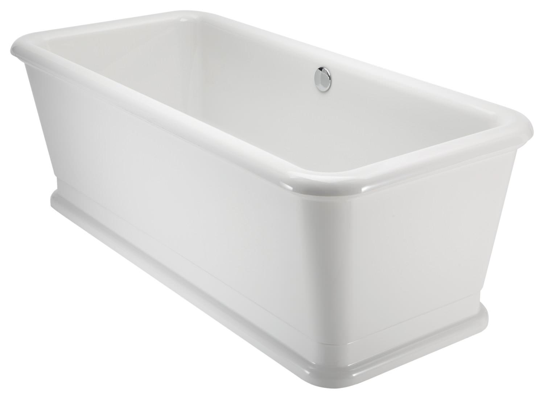 Burlington London Rectangular Soaking Bathtub 1800 X 850mm E19