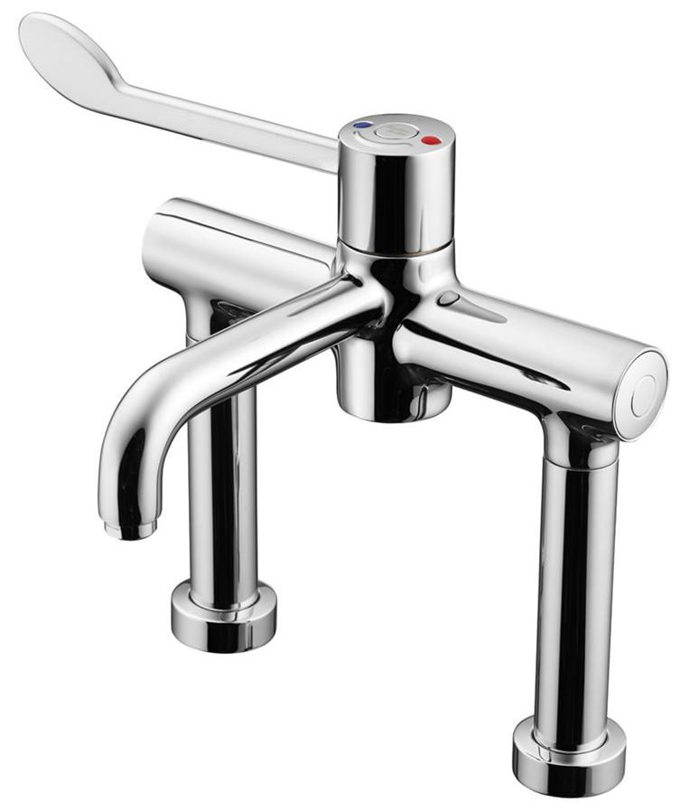 Armitage Shanks Markwik 21 Thermostatic Demountable Pillar Mixer Tap A6242aa