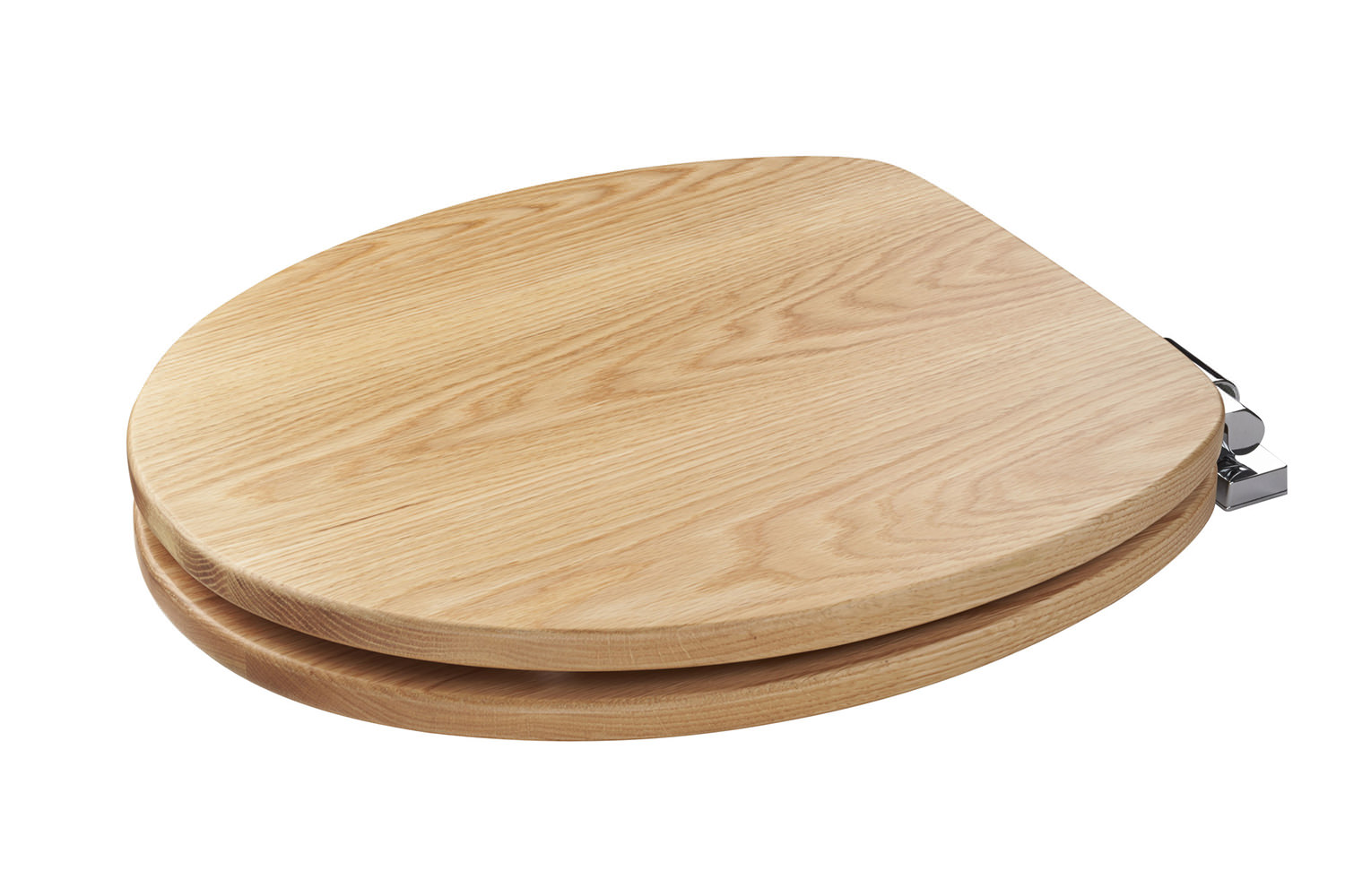 solid wood soft close toilet seat.  Croydex Fitzroy Solid Oak Soft Close Toilet Seat WL531276H
