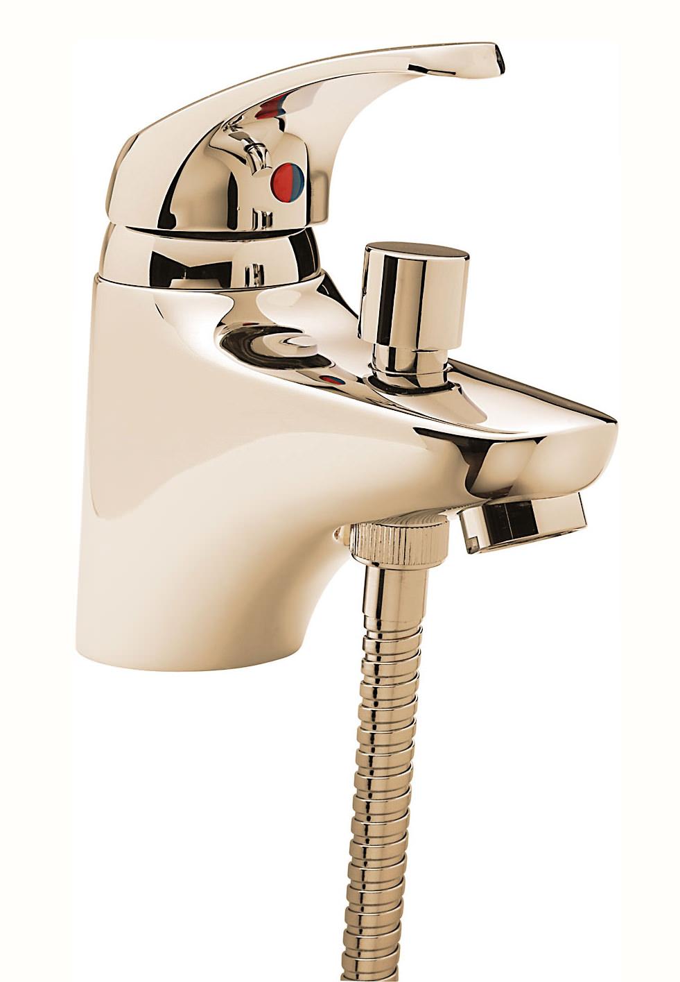 tre mercati modena mono bath shower mixer tap with shower. Black Bedroom Furniture Sets. Home Design Ideas