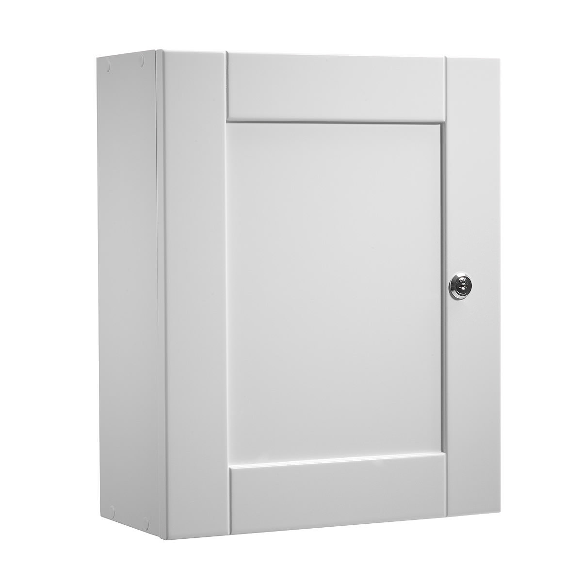 Roper rhodes medicab lockable single door wall cabinet white 334mm med340 for 50cm kitchen cabinets