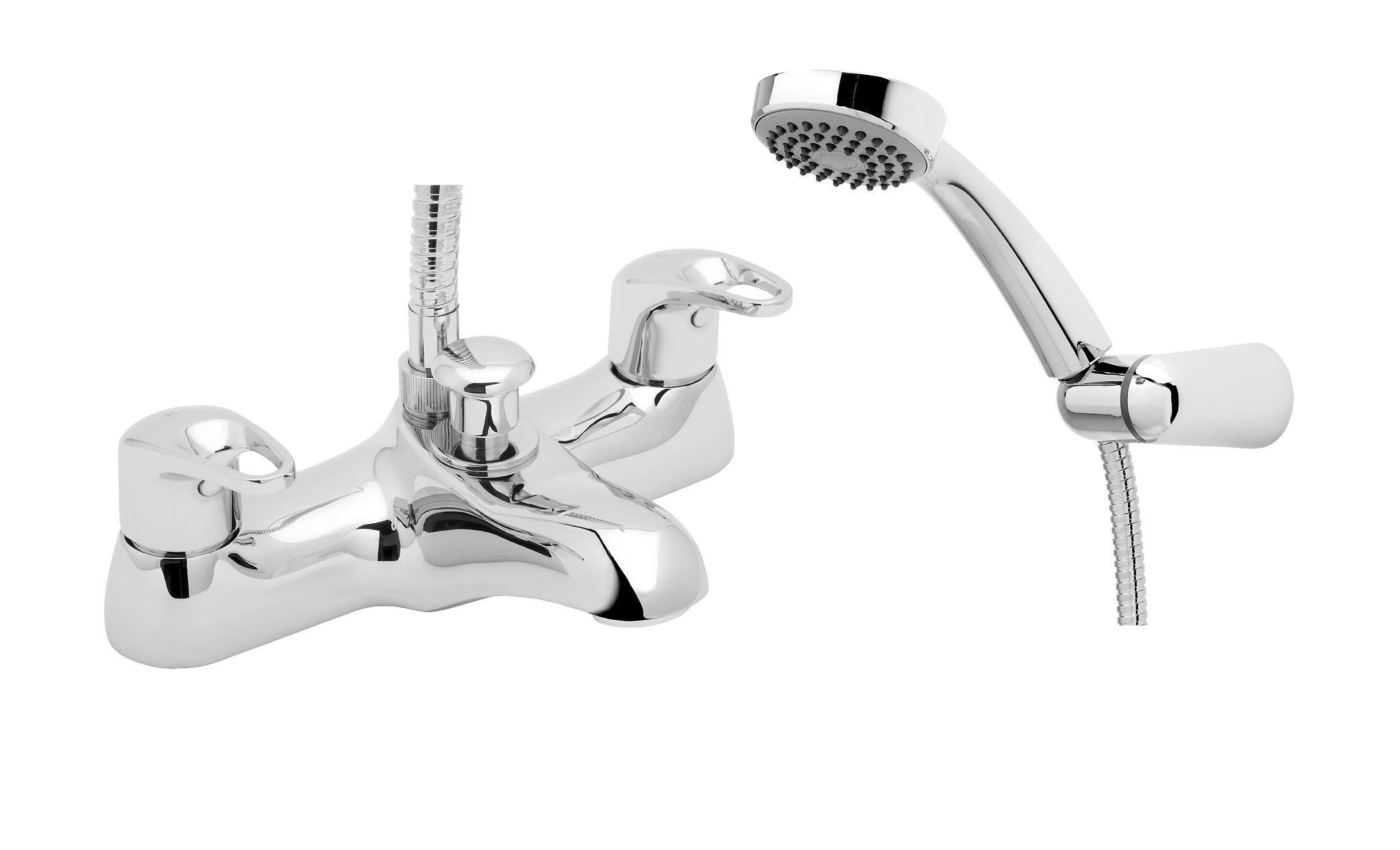 Deva Lace Deck Mounted Bath Shower Mixer Tap