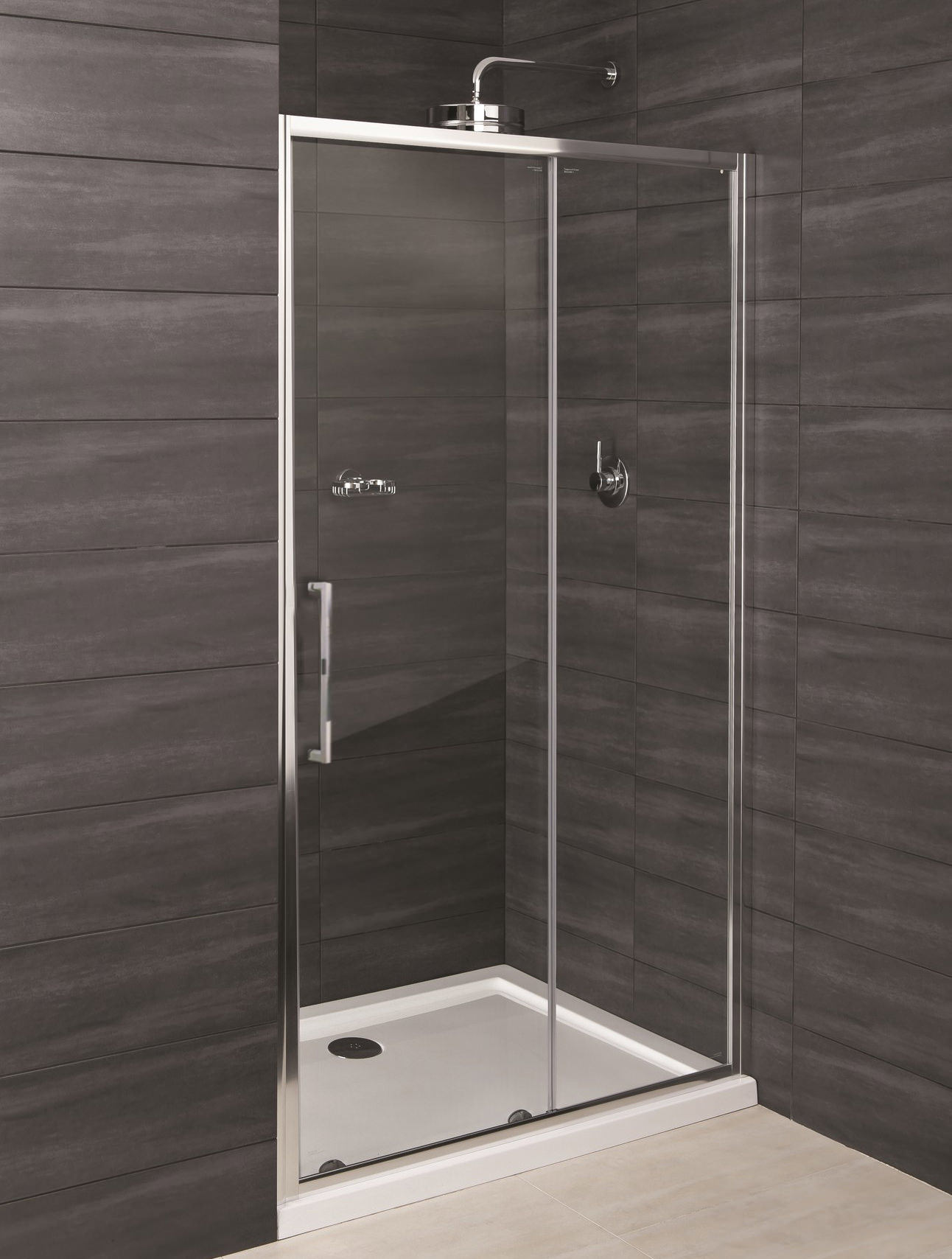 Rak Deluxe 8 Sliding Shower Enclosure Door 1400mm Rak8sl1400