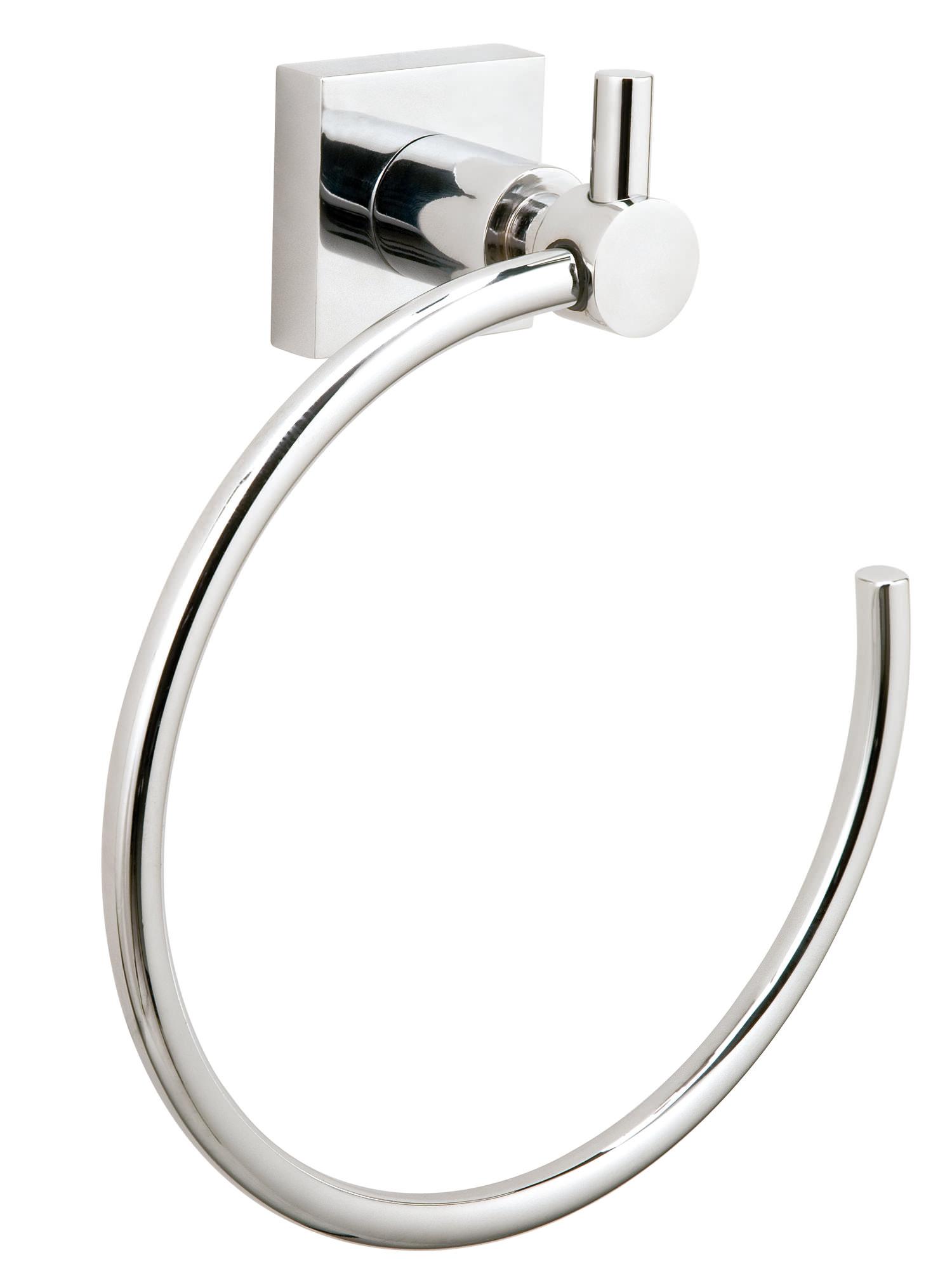 Red dot hukk chrome towel ring hu207 for Chrome towel rings for bathrooms