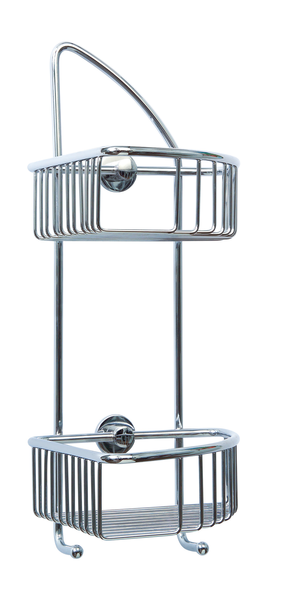 Red Dot Coorb Double Tier Corner Shower Caddy CO210